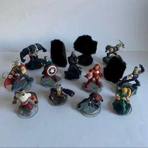 Disney Infinity 2.0 Marvel Figures Lot of 11